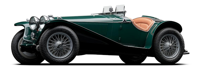 1934 Riley MPH Sports Two-Seater