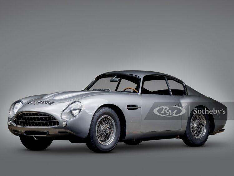 1962 Aston Martin DB4 GT Zagato Coupe