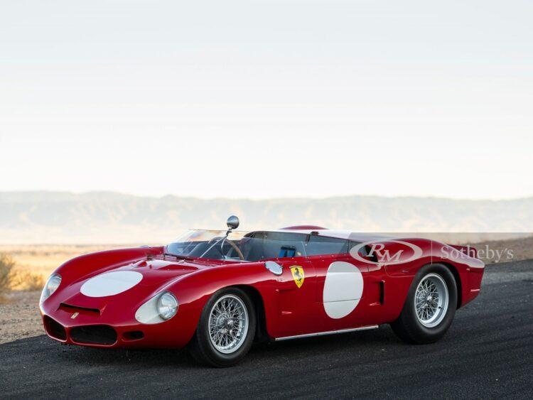 1962 Ferrari 268SP Spider, chassis 0798