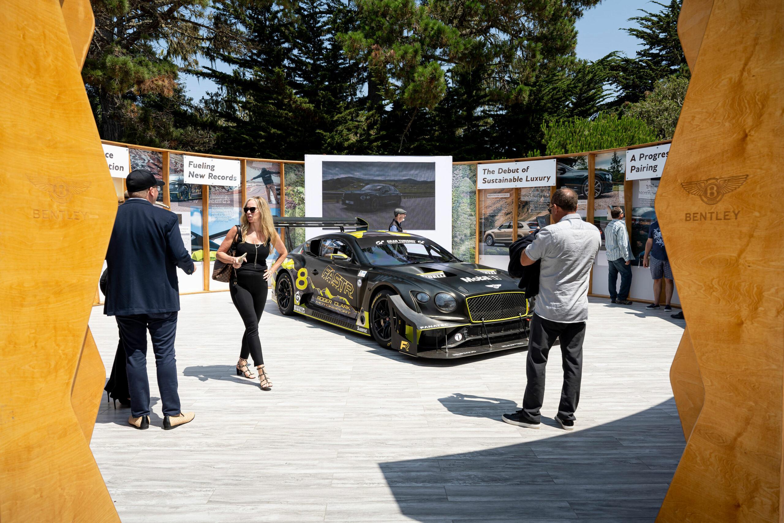 Bentley at Monterey Car Week