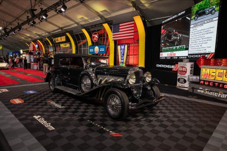 1929 Duesenberg Model J Murphy Convertible Sedan