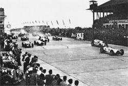 The start of the 1938 German GP