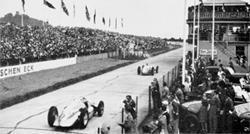 Lap 2 - Seaman passes Nuvolari