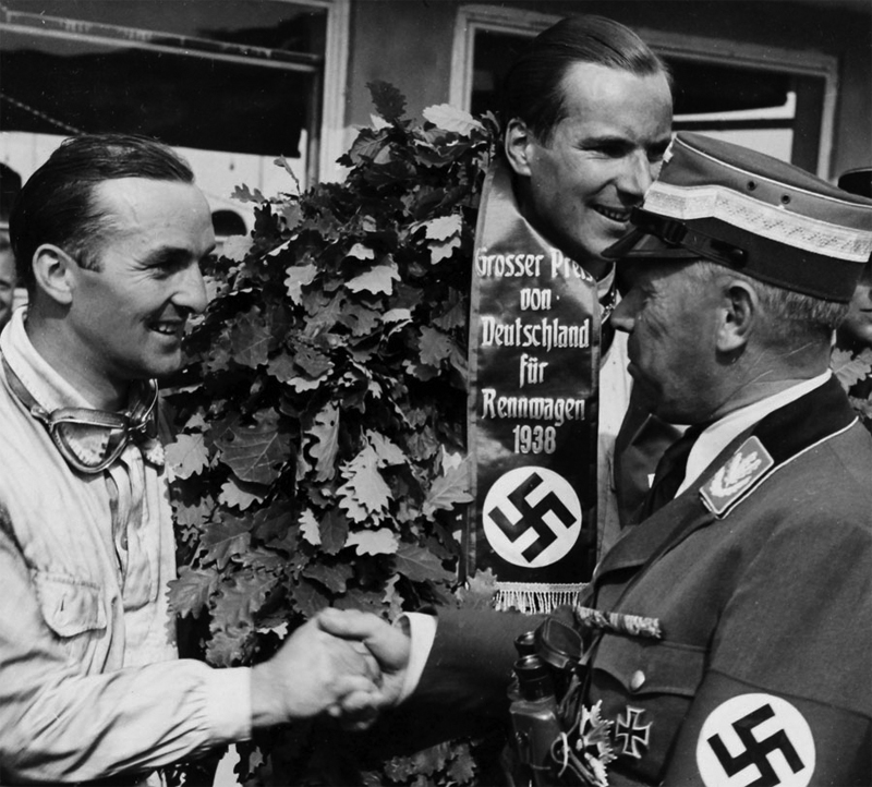 1938 German Grtand Prix - Dick Seaman