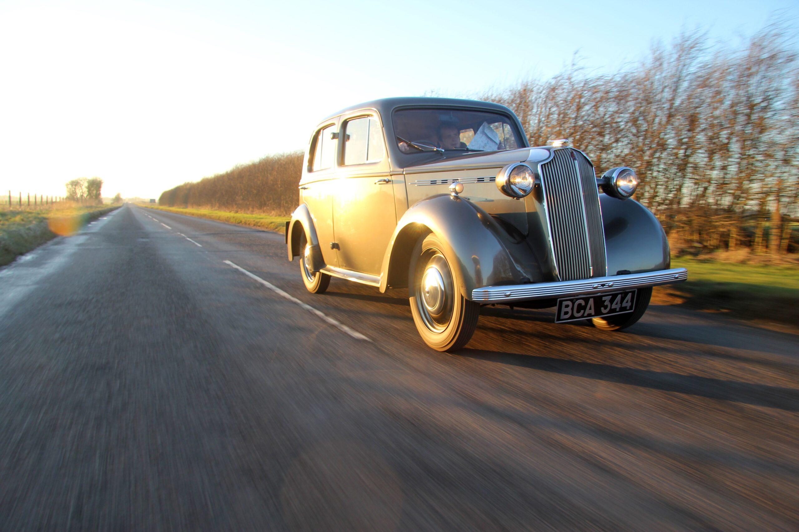 1937 Vauxhall H Type