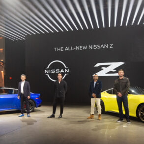 2023 Nissan Z (U.S. market) unveal event in New York
