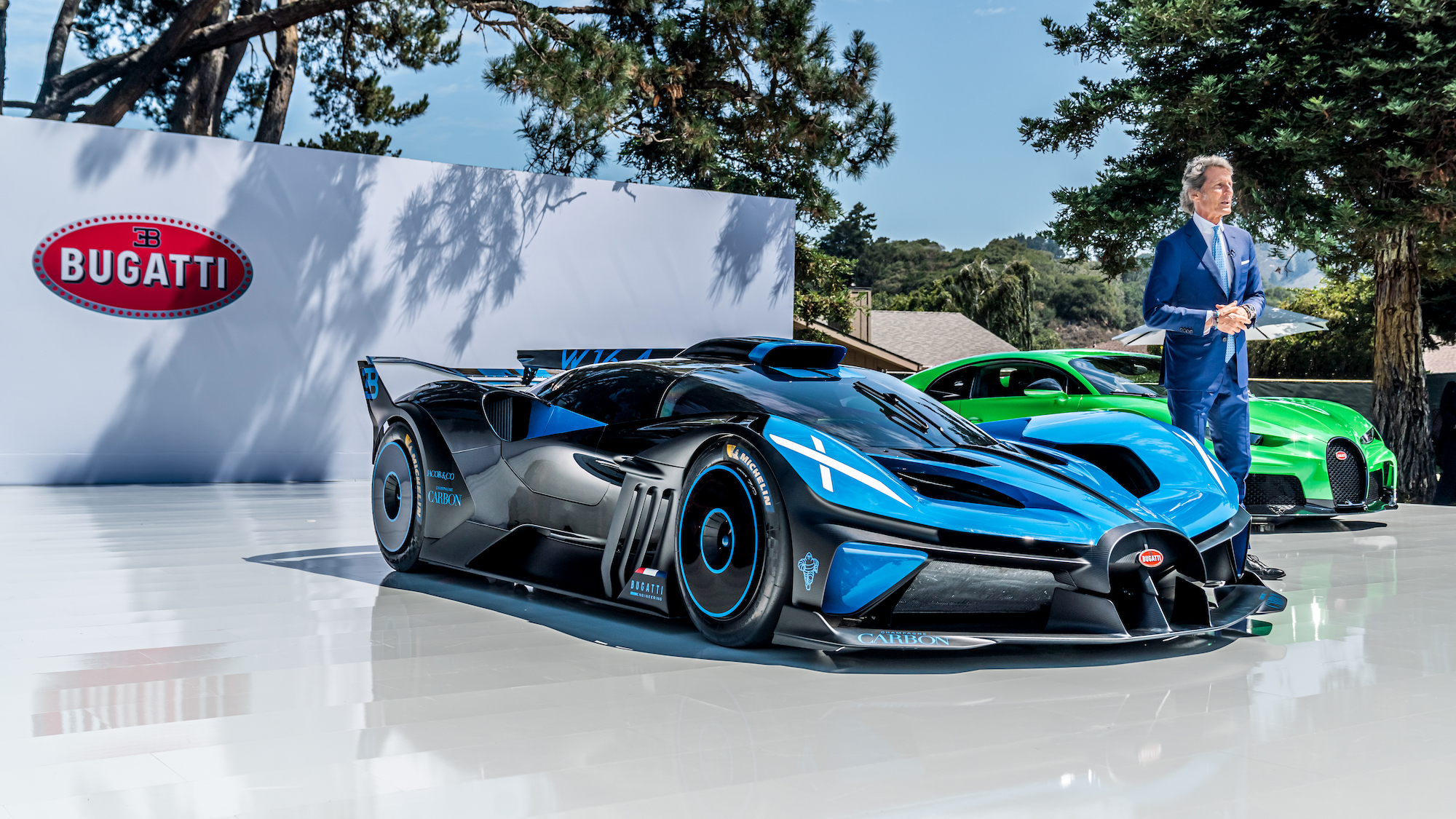 Bugatti Bolide unveiled at The Quail, Monterey Car Week