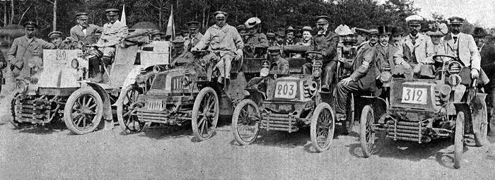 Paris - Berlin Race - 1901