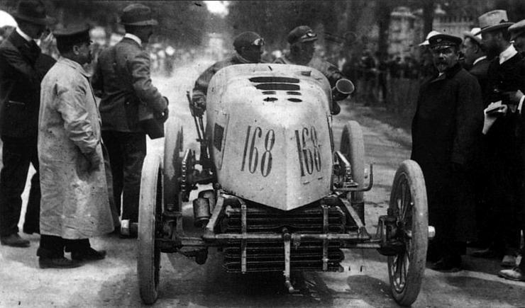 1903 Paris - Madrid