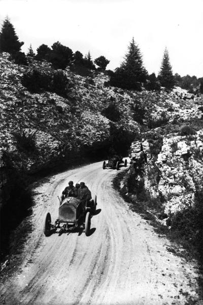 Mottard sur La Buire, Ventoux 1908