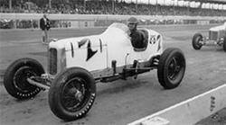 Billy Winn in a dirt-track Miller