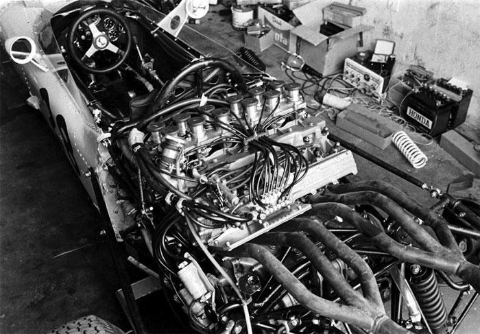 Honda RA271 1.5-litre engine