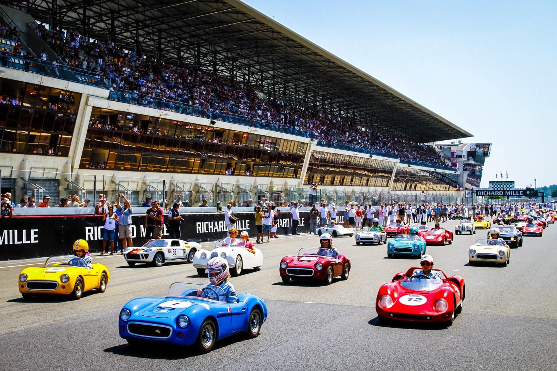 Little Big Mans exhibition event at Le Mans Classic
