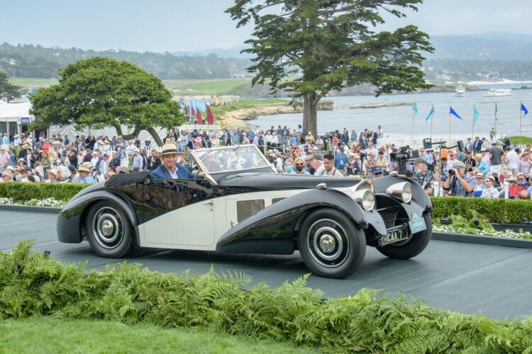 1937 Bugatti Type 57S Corsica Drophead Coupe