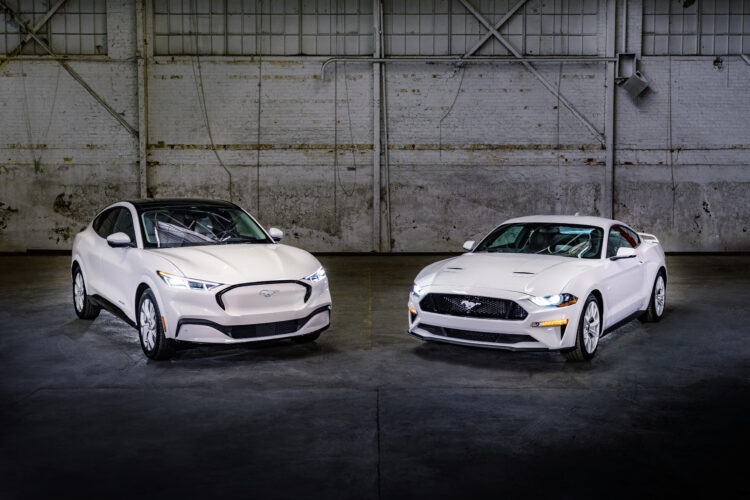 Mustang Family Ice White Appearance Package