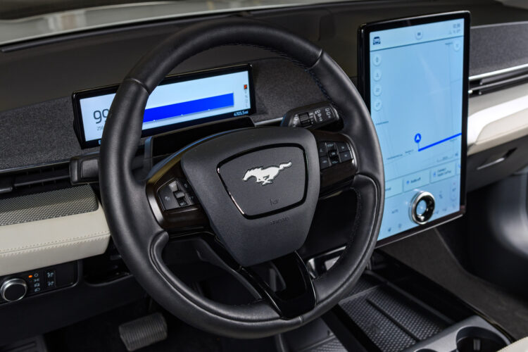 2022 Mustang Mach-E Ice White Appearance Package
