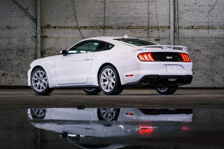 2022 Mustang Coupe Ice White Appearance Package