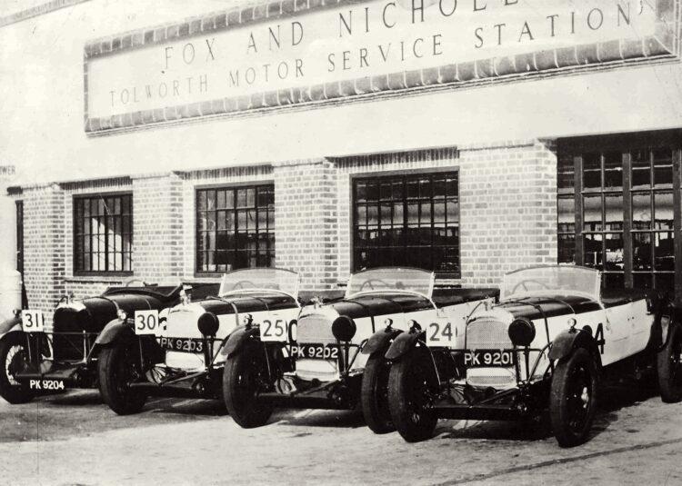Team Lagonda Collection period