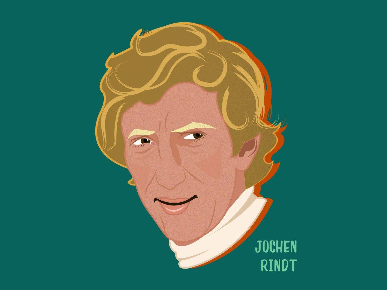 Jochen Rindt illustration