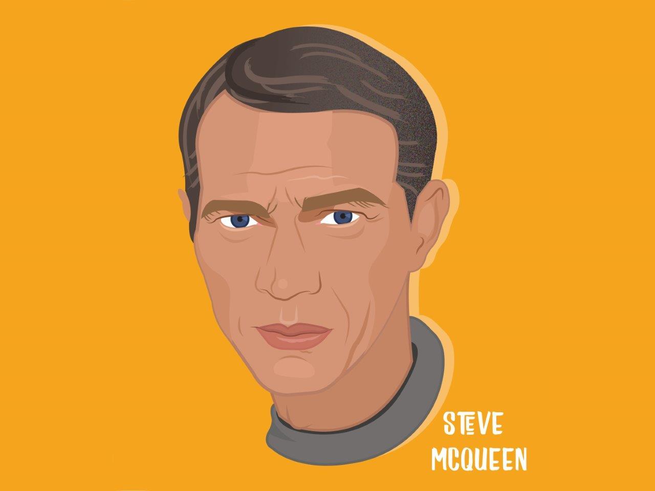 Steve McQueen Illustration
