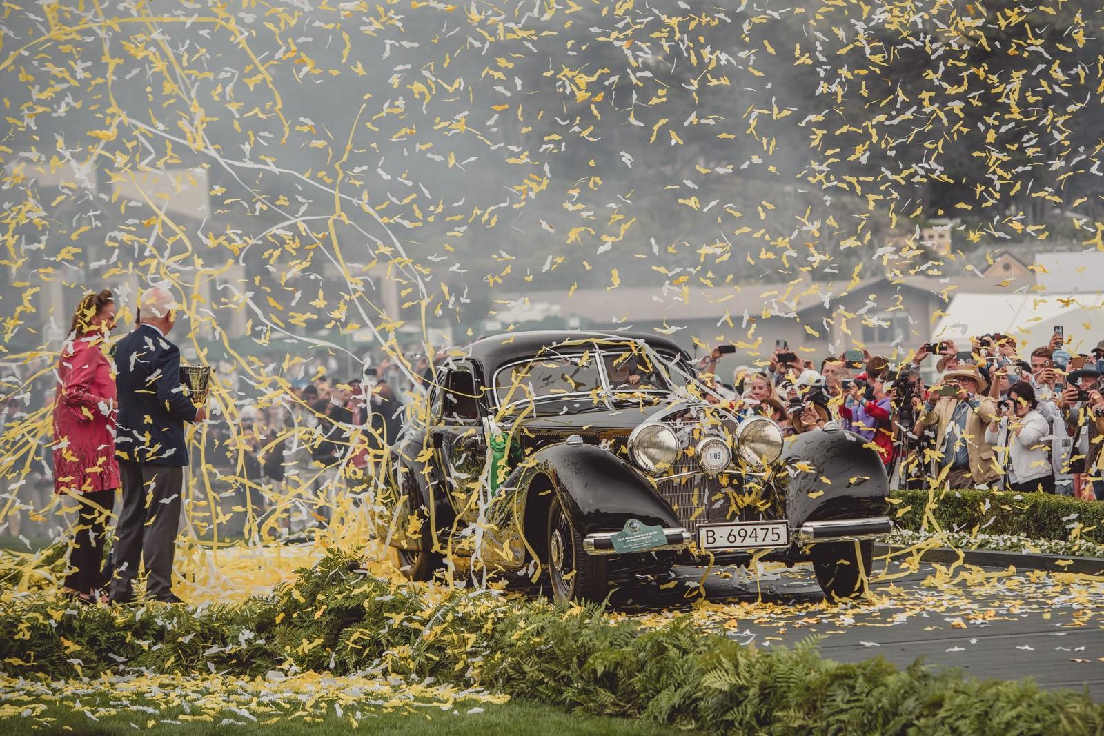 Pebble Beach Concours d'Elegance 2021 'Best of Show' Winner - 1938 Mercedes Benz 540K Autobahn Kurier