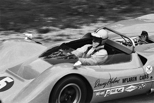 McLaren M6A with Denny Hulme