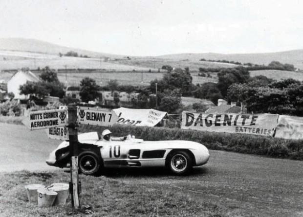John Fitch, Mercedes-Benz 300SLR, 1955 Tourist Trophy Dundrod