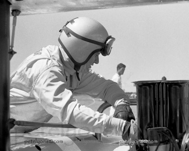 Bruce McLaren, McLaren M8B engine, Edmonton