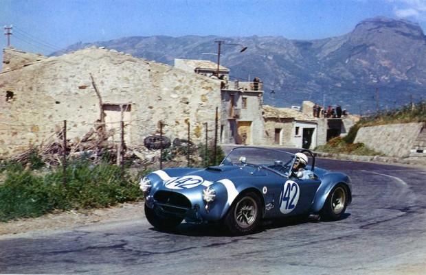 Phil Hill Shelby Cobra Targa Florio picture