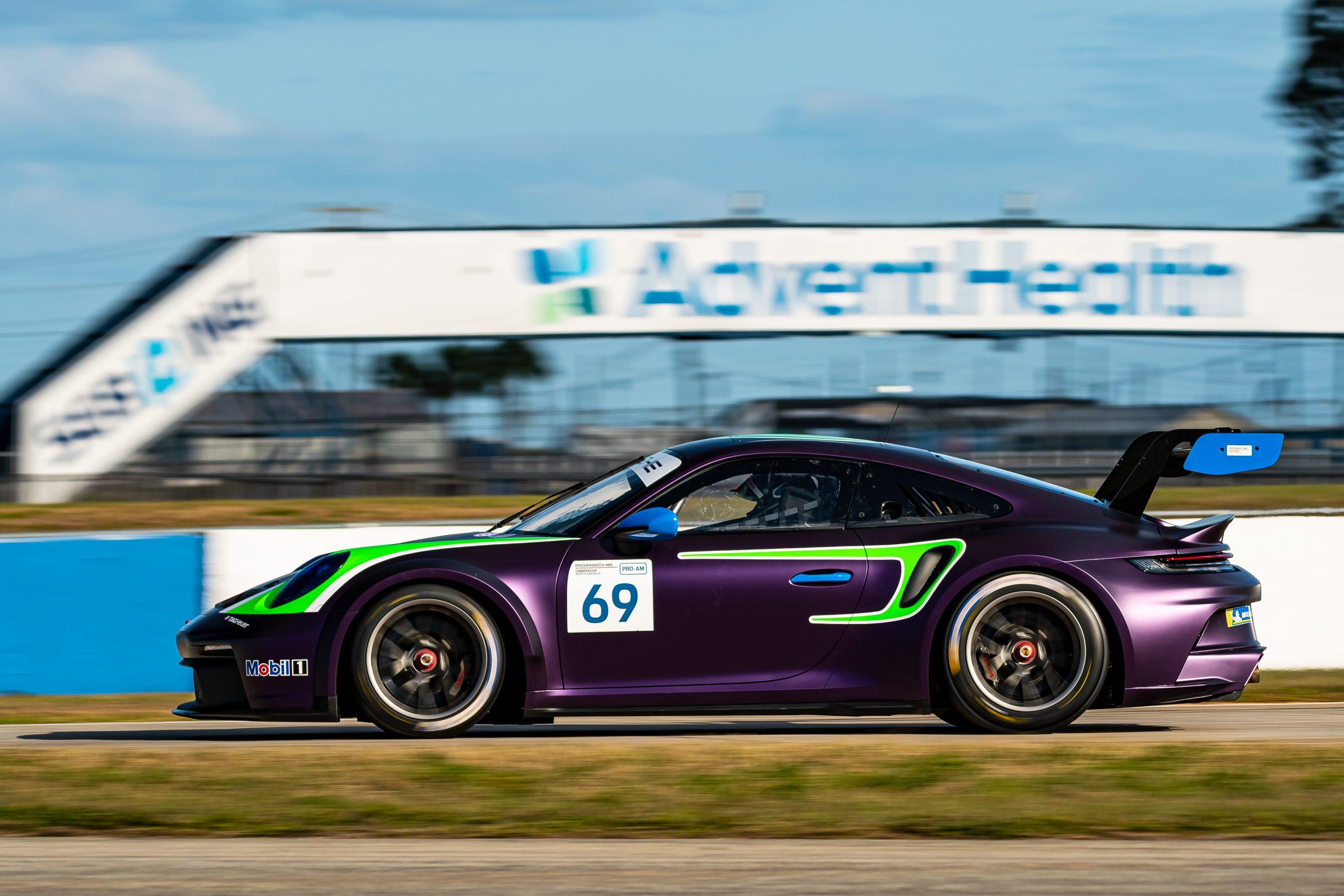 No. 69 BGB Motorsports, Porsche 911 GT3 Cup, Tom Colingwood