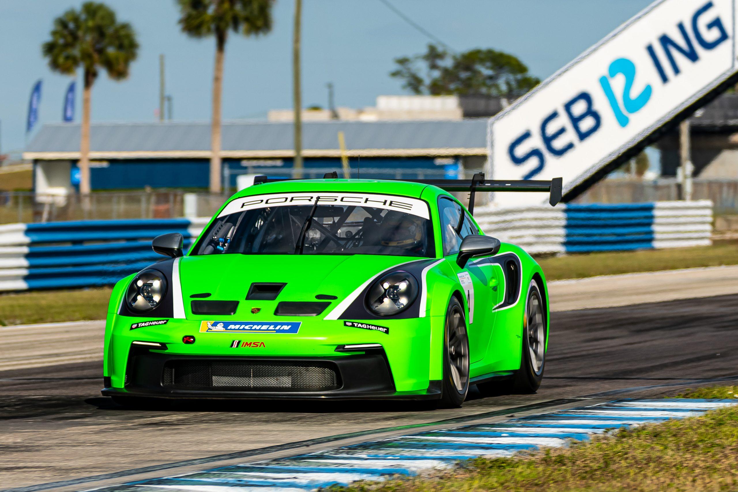 No. 4 BGB Motorsports, Porsche 911 GT3 Cup, Dylan Murry