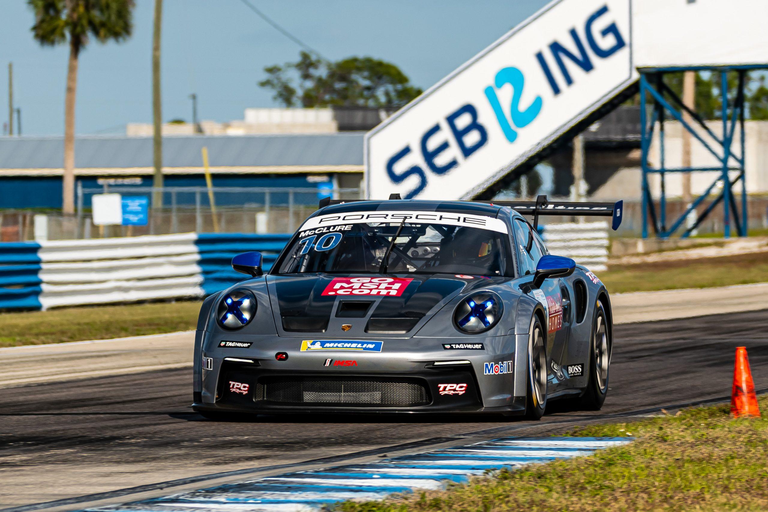 No. 10 TPC Racing, Porsche 911 GT3 Cup, Vernon McClure
