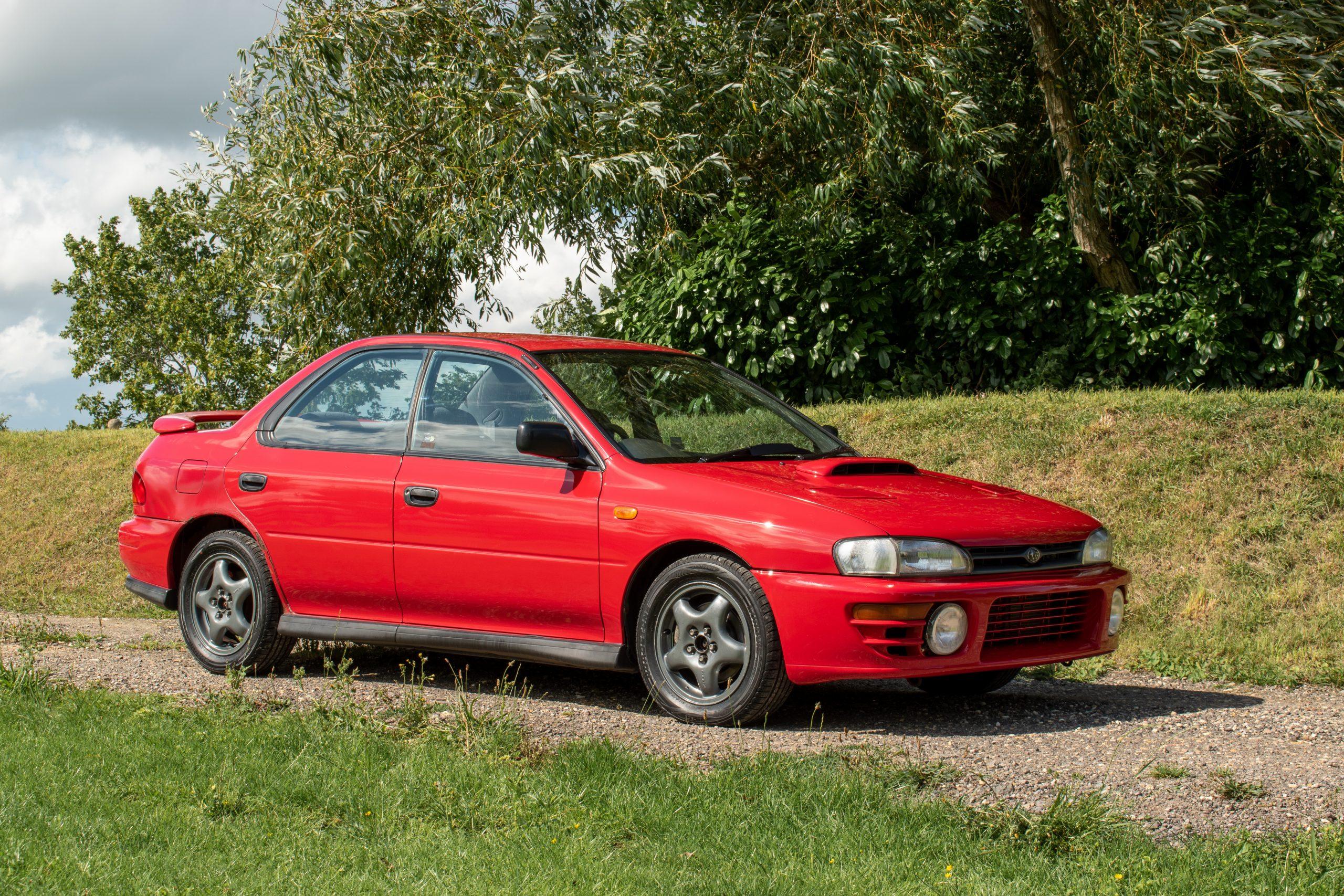 Ex-McRae Family,1996 Subaru Impreza UK2000