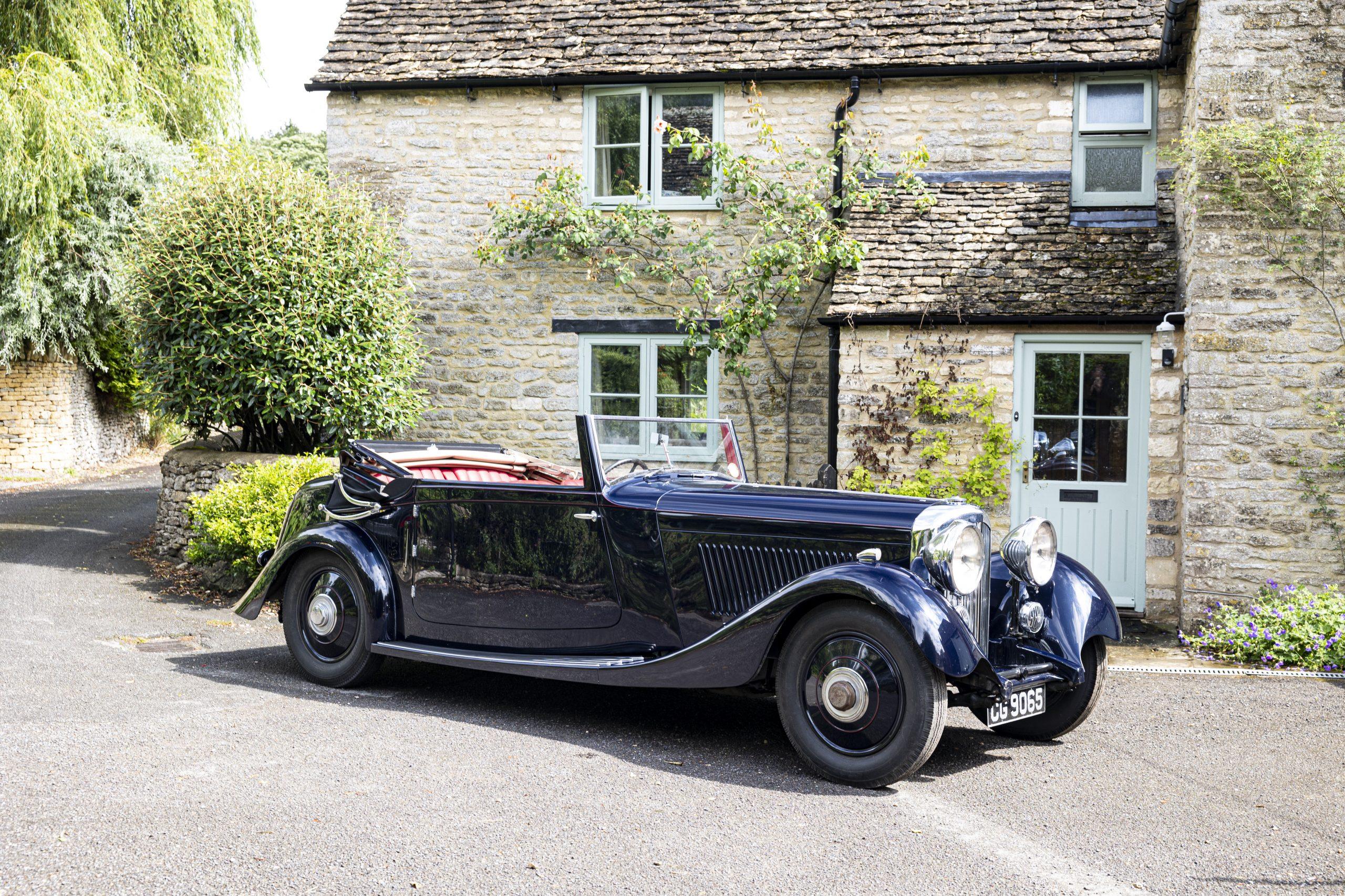 1934 Bentley 3½-Litre Drophead Coupé