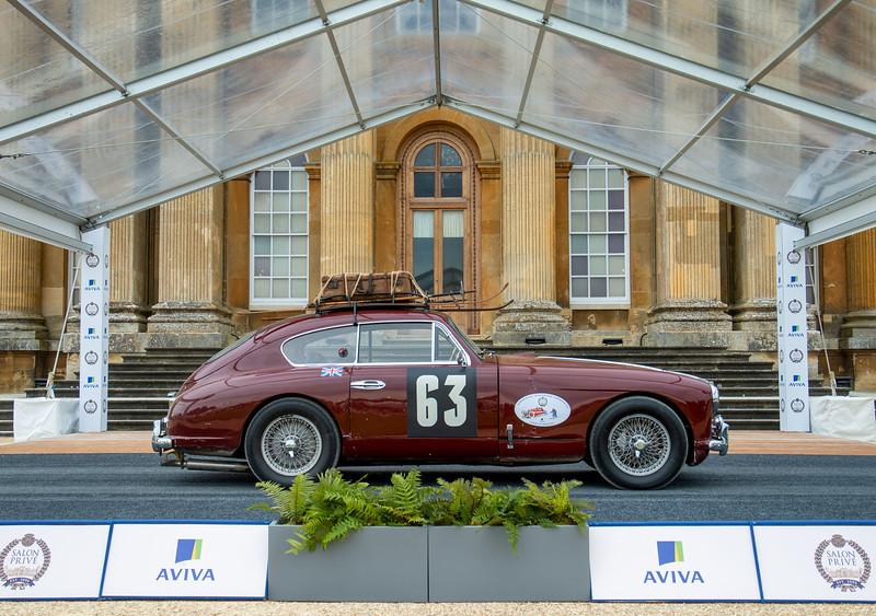 1955 Aston Martin DB2 Monte Carlo Rally Car