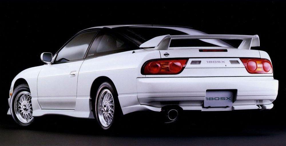 Nissan 180SX Type X Nismo rear 3/4 view