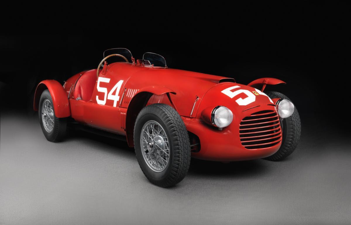 1948 Ferari 166 Spider Corsa