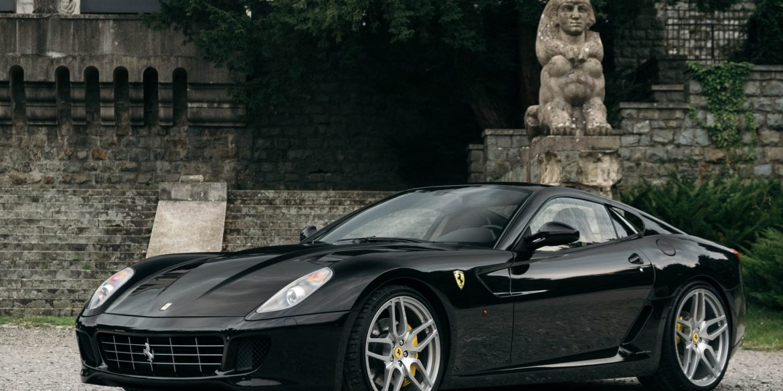 Ferrari 599 GTB Fiorano.