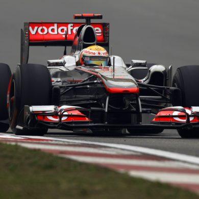 Lewis Hamilton, McLaren MP4-26 Mercedes.