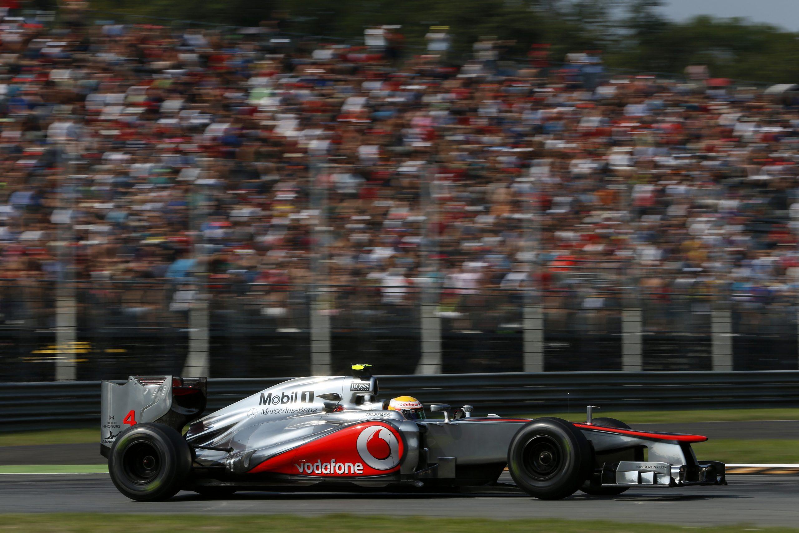 Formula One World Championship, Rd 13, Italian Grand Prix, Practice, Monza, Italy, Friday 7 September 2012.