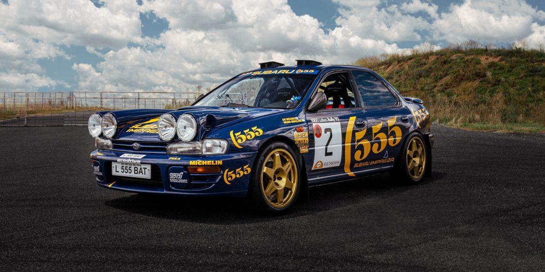 1993 Subaru Impreza Prodrive 555 © Sarah Jane