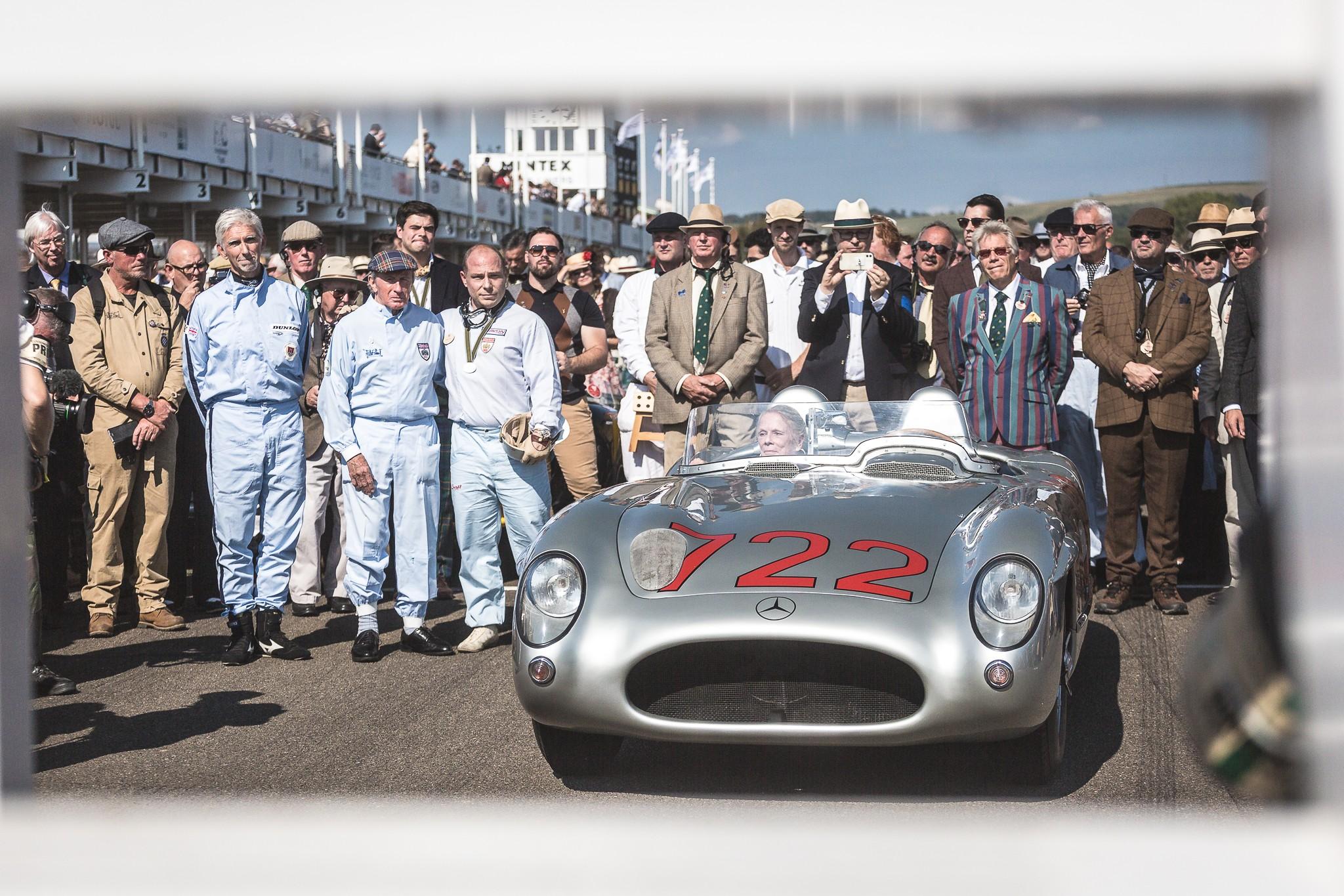 The legendary Sterling Moss Mille Miglia winning Mercedes 300SLR