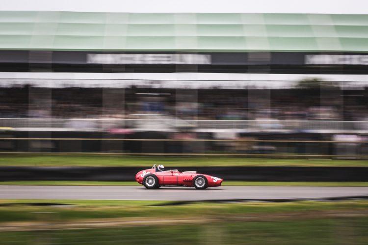 Ferrari 246 Dino contesting the Richmond Trophy