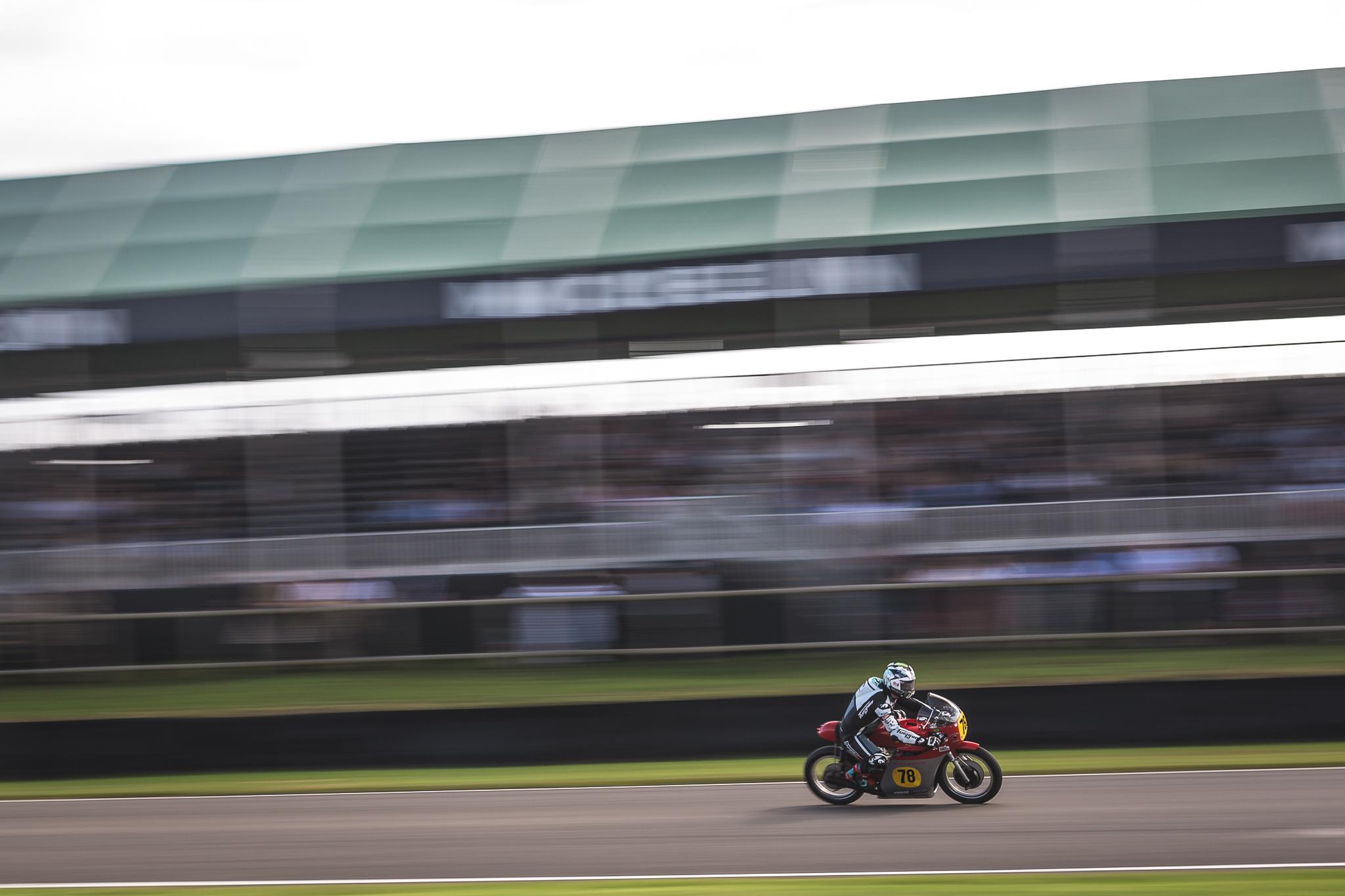 Michael Dunlop riding MV Agusta 500/3