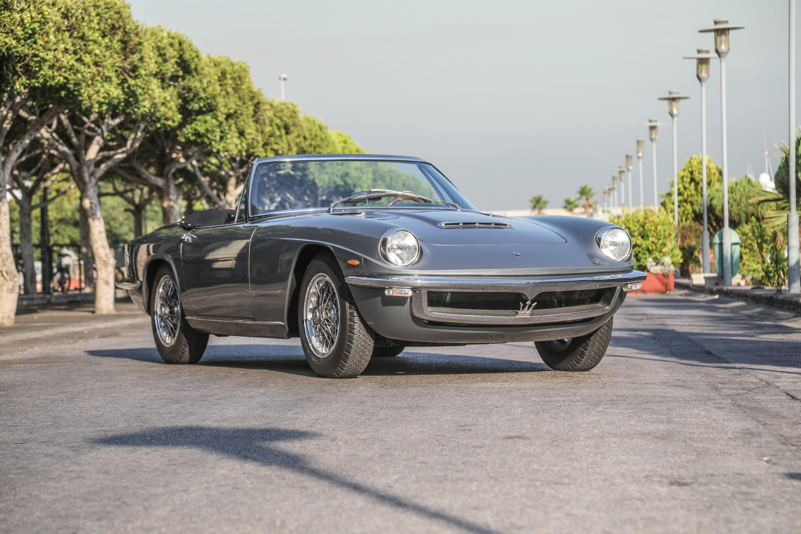 1964 Maserati 3.5-Litre Mistral Spyder