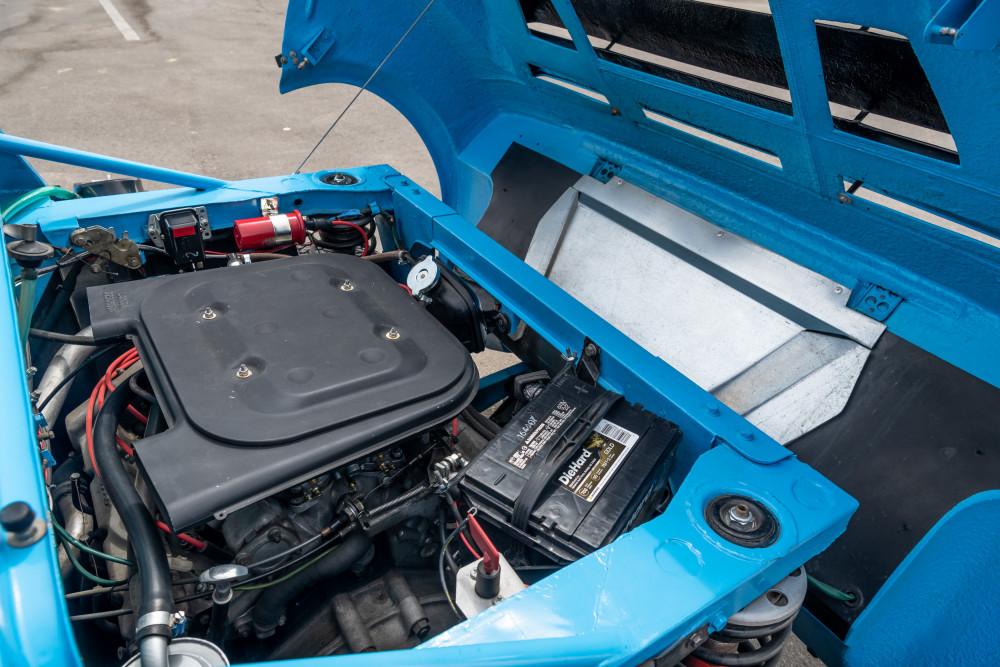 Ferrari V6 in the back of the Lancia Stratos