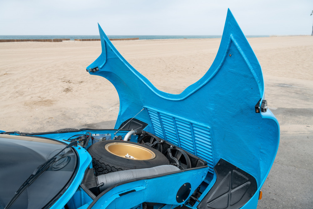 Lancia Stratos front clamshell hood