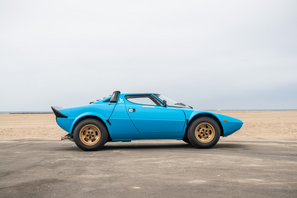 1975 Lancia Stratos HF Stradale, the name inspiration for Stratas Auctions.