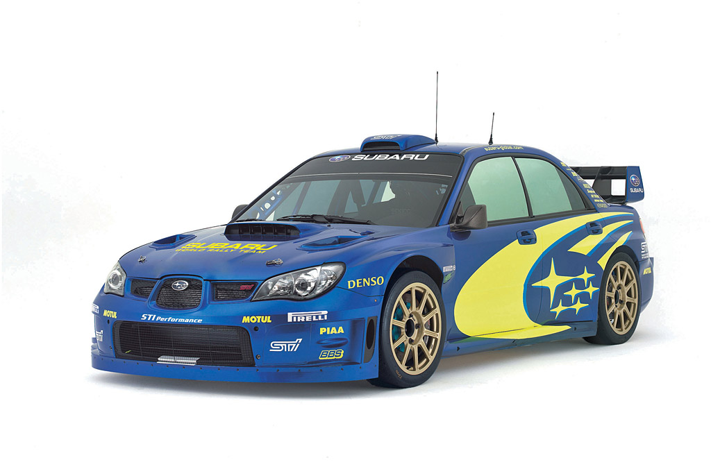 Group N 2000 class Subaru WRX WRC