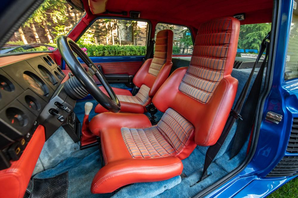 1981 Renault R5 Turbo Series 1 interior